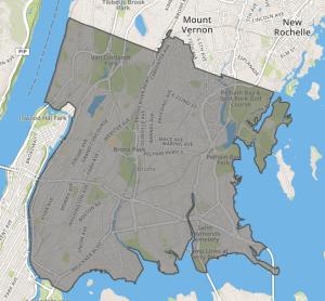 Bronx GeoJson polygon Visualization