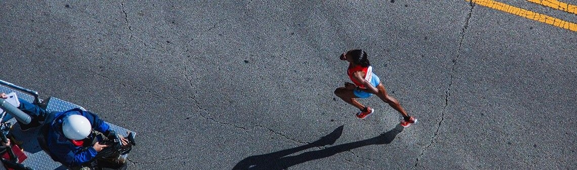Is there alimit toathletes' abilities inathletic running events?