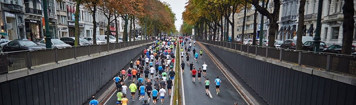 The marathon ofteams' data analysis